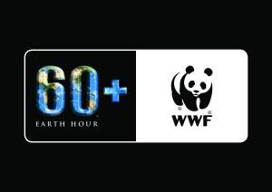 Earth Hour WWF logo lock-up_black